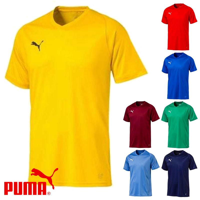 プーマ LIGA ゲームシャツ コア 703638( サッカー フットサル トレーニングウェア ゲームシャツ )
