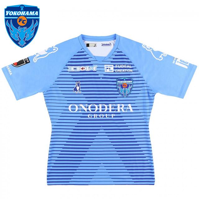 サッカージャンキー 横浜FC ユニホーム 2020 ホーム オーセンティック YSJ20001( サッカー フットサル ウェア ゲームシャツ パンツ soccerjunky )