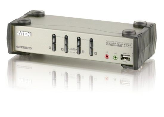 ATEN製 4ポート マルチプラットホーム対応KVMスイッチ CS1734B/ATEN