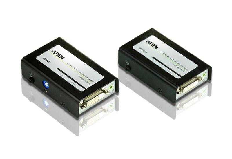 オーディオ対応デュアルリンクDVIエクステンダー VE602/ATEN