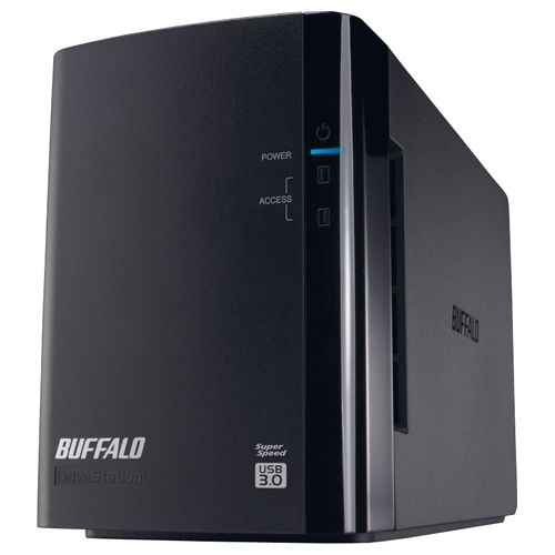 ミラーリング機能搭載 USB3.0用 外付けハードディスク 2ドライブモデル 4TB HD-WL4TU3/R1J