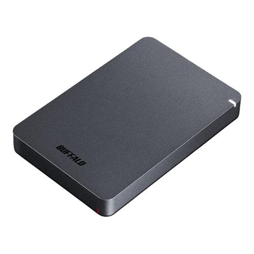 USB3.1(Gen.1)対応 耐衝撃ポータブルHDD 2TB ブラック HD-PGF2.0U3-BBKA