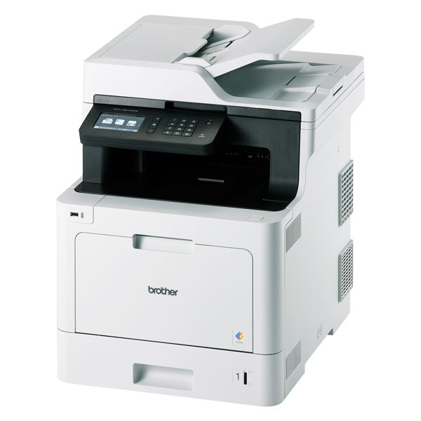 JUSTIO A4カラーレーザー複合機(プリンター/コピー/カラースキャナー/ファクス/PCファクス送受信/無線・有線LAN/USB)MFC-L8610CDW MFC-L8610CDW