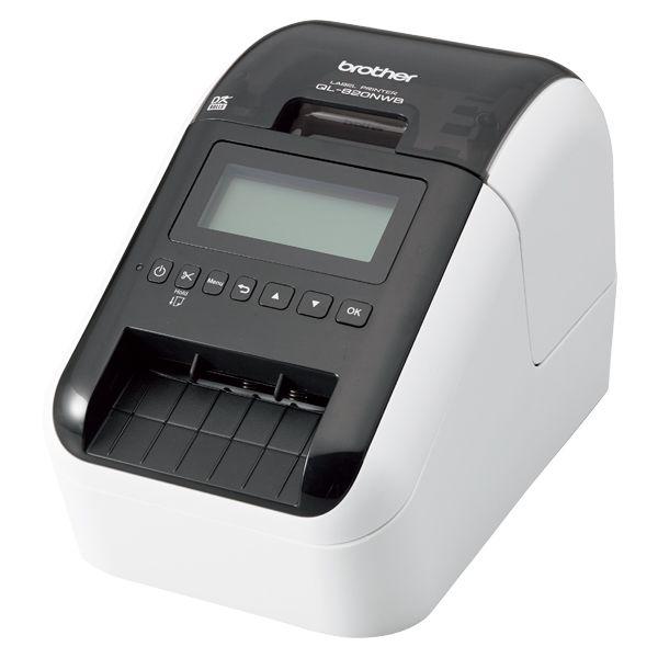 感熱ラベルプリンター(300dpi/無線・有線LAN/Bluetooth/USB)QL-820NWB QL-820NWB