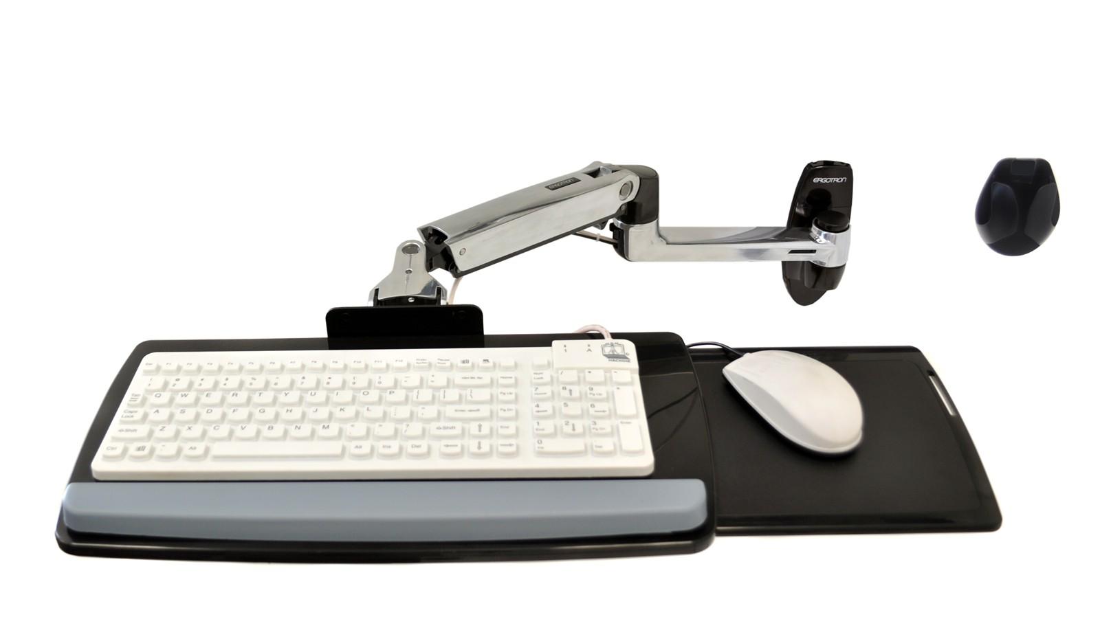 LX ウォールマウントキーボードアーム 45-246-026