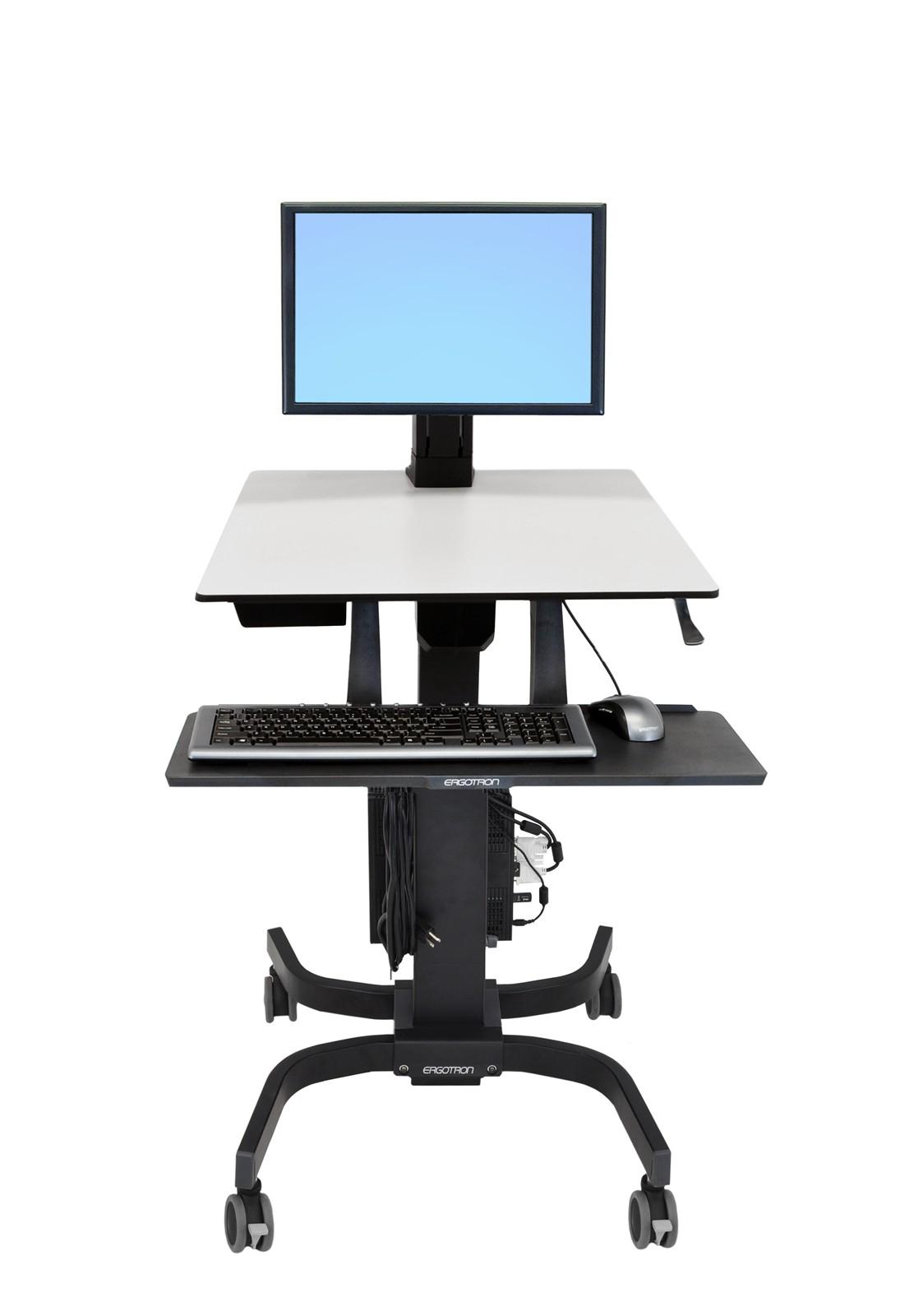 エルゴトロン WorkFit-C シングルディスプレイLD 昇降式ワークステーション 24-215-085