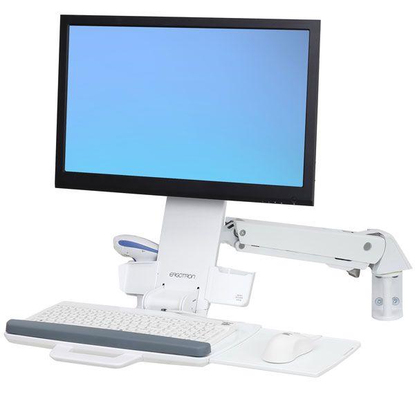 エルゴトロン StyleView 昇降式コンボアーム (ホワイト) 45-266-216