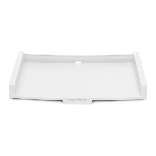 KeyBoard With Mouse Tray Kit、Combo System、Bright White 98-150-062