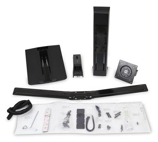 エルゴトロン WorkFit LCD & LaptopKit、Black 97-933-085