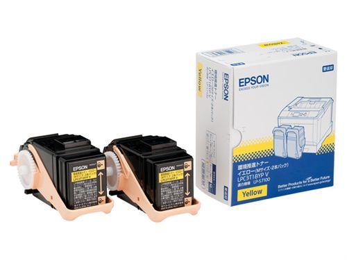 環境推進トナー(V) LP-S7100用 イエロー2本パック (Mサイズ/6、500ページ×2) LPC3T18YPV
