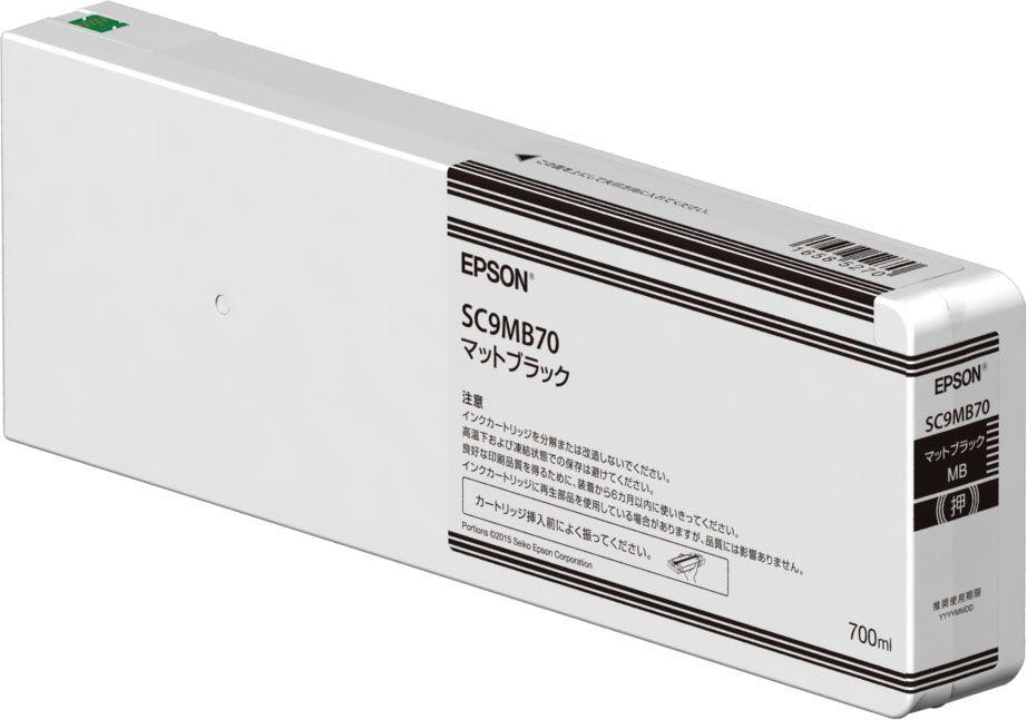 インクカートリッジ(マットブラック/700ml) SC9MB70
