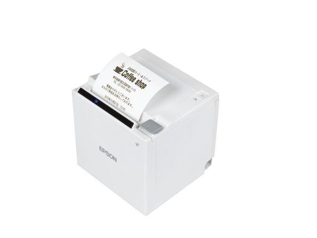 サーマルレシートプリンター TM-m30(80・58mm幅/ホワイト) TM30UBE611