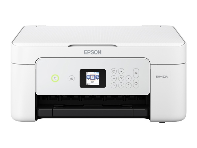 Colorio 多機能モデル EW-452A(A4/無線LAN/Wi-Fi Direct/1.44型液晶/自動両面印刷/4色) EW-452A