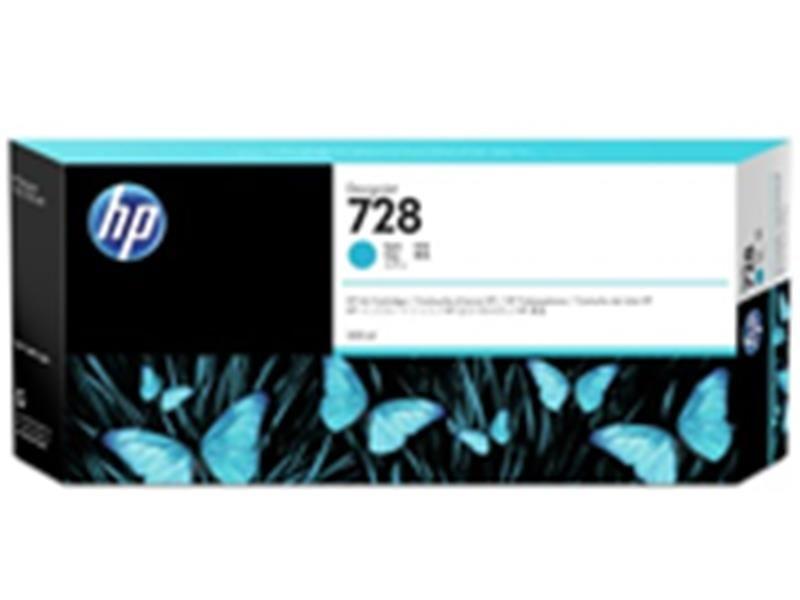 HP 728 インクカートリッジ シアン300ml F9K17A