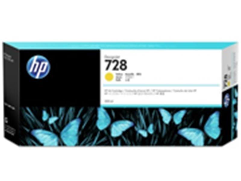 HP F9K15A HP 728 インクカートリッジ イエロー300ml イエロー300ml F9K15A, 日吉町:02006cb0 --- data.gd.no