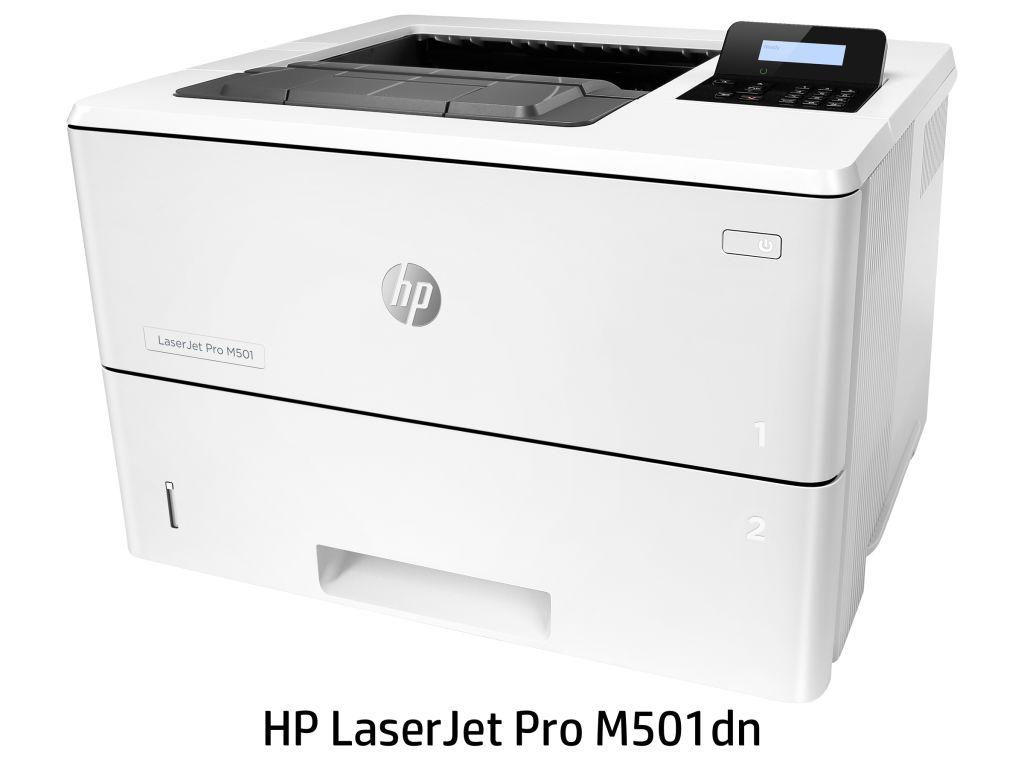 [LaserJet Pro]レーザープリンター M501dn(モノクロ/LAN/USB2.0/A4) J8H61A#ABJ