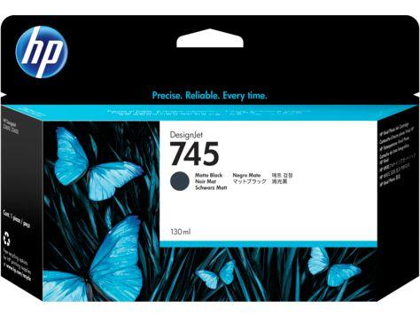 HP745インクカートリッジ マットBK130ml F9J99A