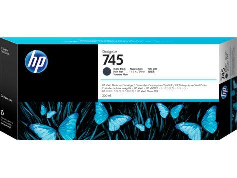 HP745インクカートリッジ マッドBK300ml F9K05A