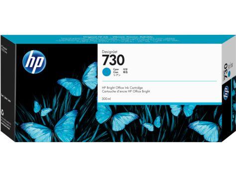 HP730 インクカートリッジ シアン 300ml P2V68A