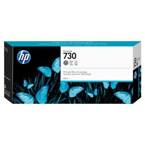 HP730 インクカートリッジ グレイ 300ml P2V72A