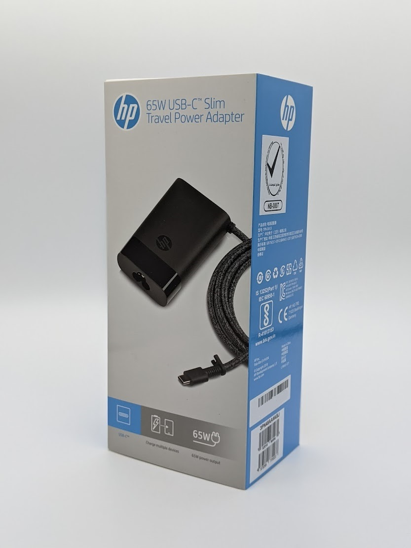 日本HP 3PN48AA#ABJ HP 65W 限定価格セール USB-C スリムACアダプター ◆セール特価品◆