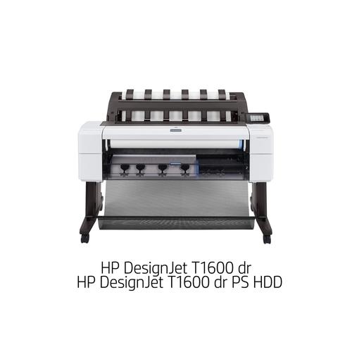 [DesignJet]大判プリンター T1600 dr PS HDD(6色インクジェット/LAN/A0ノビ/ダブルロール機/PSモデル) 3EK13A#BCD