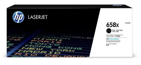 HP 658X トナーカートリッジ 黒 W2000X
