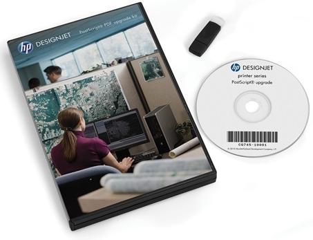 HP DesignJet T/XL series PS/PDF Kit C0C66C
