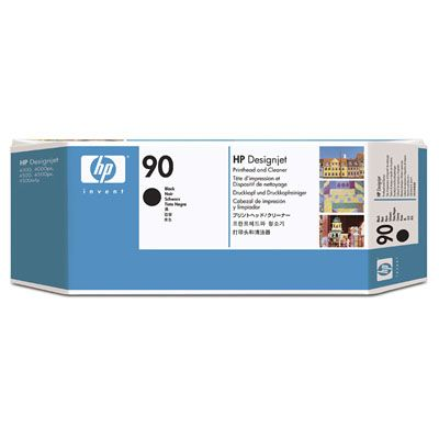 HP 90 インクヘッド/クリーナ 黒 C5054A