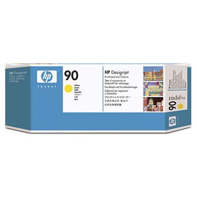 HP 90 インクヘッド/クリーナー イエロー C5057A