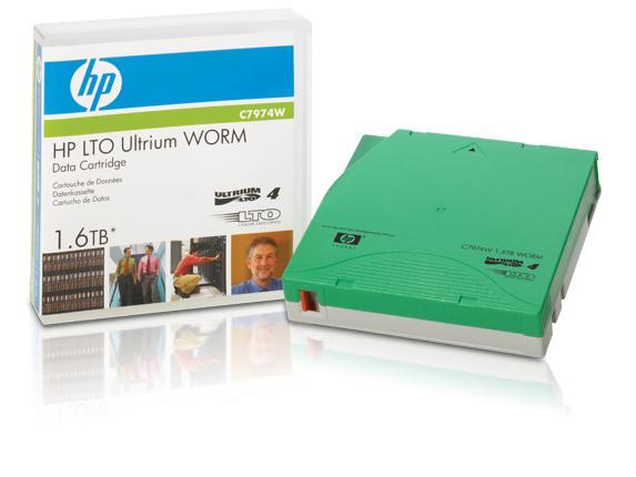 LTO4 Ultrium 1.6TB WORM データカートリッジ C7974W