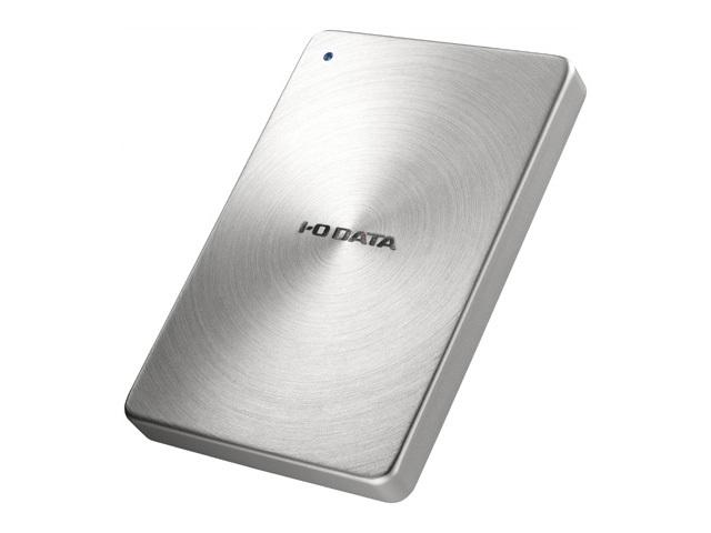 USB 3.0/2.0対応 ポータブルハードディスク「カクうす」2.0TB シルバー HDPX-UTA2.0S