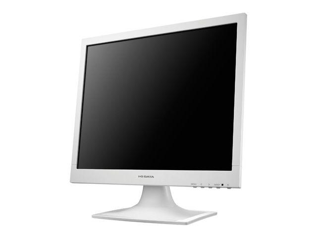 「5年保証」17インチ スクエア 液晶ディスプレイ(1280x1024/アナログRGB/DVI-D/スピーカー/LED/ノングレア/TNパネル/ホワイト) LCD-AD173SESW