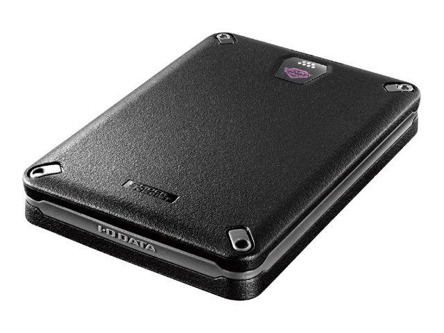 USB 3.0/2.0対応 ハードウェア暗号化&パスワードロック対応耐衝撃ポータブルHDD 1TB HDPD-SUTB1