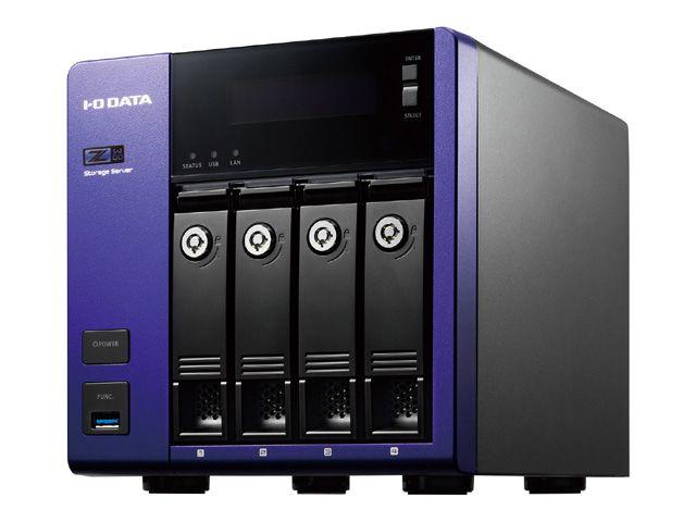 Windows Storage Server 2016 Workgroup Edition/Intel Celeron搭載 4ドライブNAS4TB HDL-Z4WQ4D