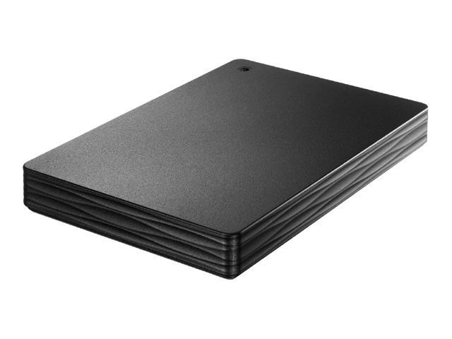 USB 3.1 Gen 1/2.0対応ポータブルハードディスク「カクうす Lite」ブラック 1TB HDPH-UT1KR