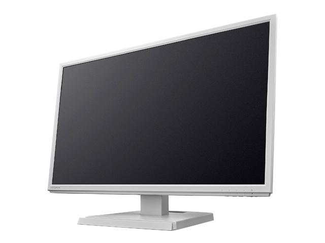「5年保証」広視野角ADSパネル採用 USB Type-C搭載23.8型ワイド液晶 ホワイト LCD-CF241EDW