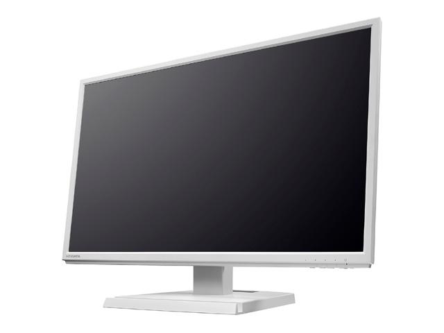 「5年保証」広視野角ADSパネル採用 23.8型ワイド液晶ディスプレイ ホワイト LCD-AH241EDW