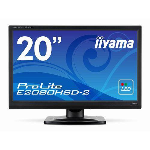 [ProLite]19.5インチ ワイド 液晶ディスプレイ(1600x900/D-Sub15Pin/DVI/スピーカー/LED/ノングレア/TNパネル/マーベルブラック) E2083HSD-B2
