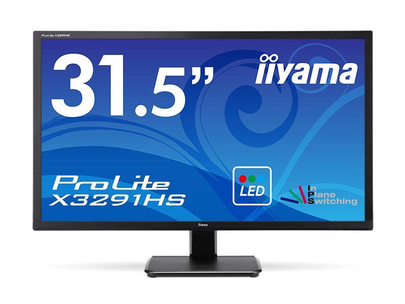 [ProLite]31.5インチ ワイド 液晶ディスプレイ(1920x1080/D-Sub15Pin/HDMI/DVI/スピーカー/WLED/ハーフグレア/AH-IPSパネル/マーベルブラック) X3291HS-B1