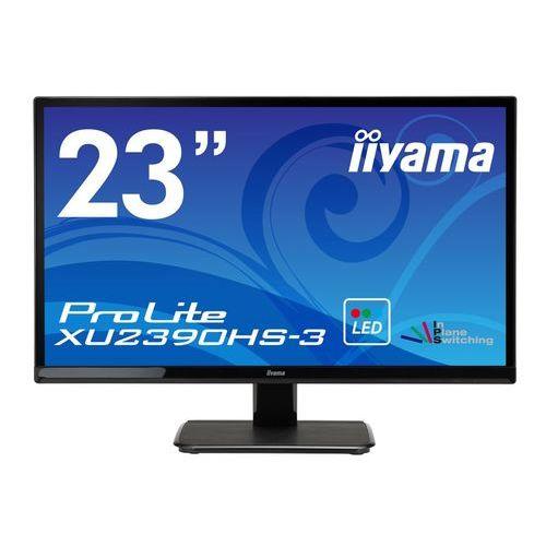 [ProLite]23インチ ワイド 液晶ディスプレイ(1920x1080/D-Sub15Pin/DVI/HDMI/スピーカー/WLED/ノングレア/AH-IPSパネル/マーベルブラック) XU2390HS-B3