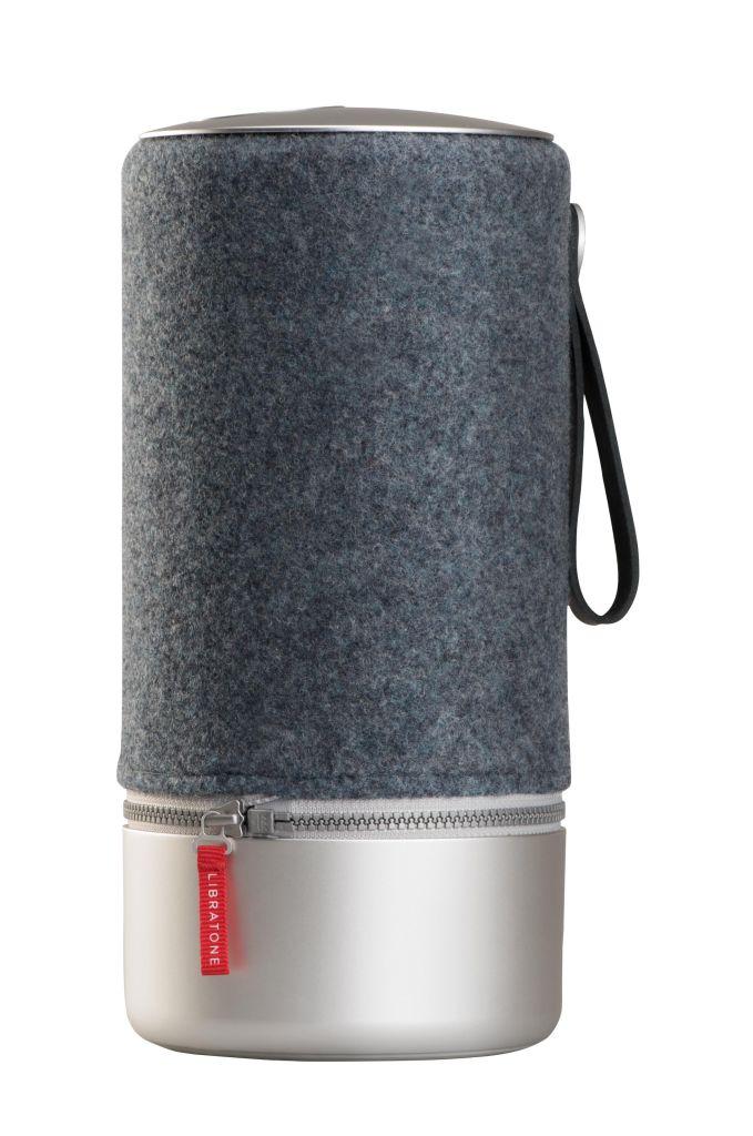 Libratone ZIPP Copenhagen WiFi + Bluetooth スピーカー (Steel Blue) LH0032020JP1003