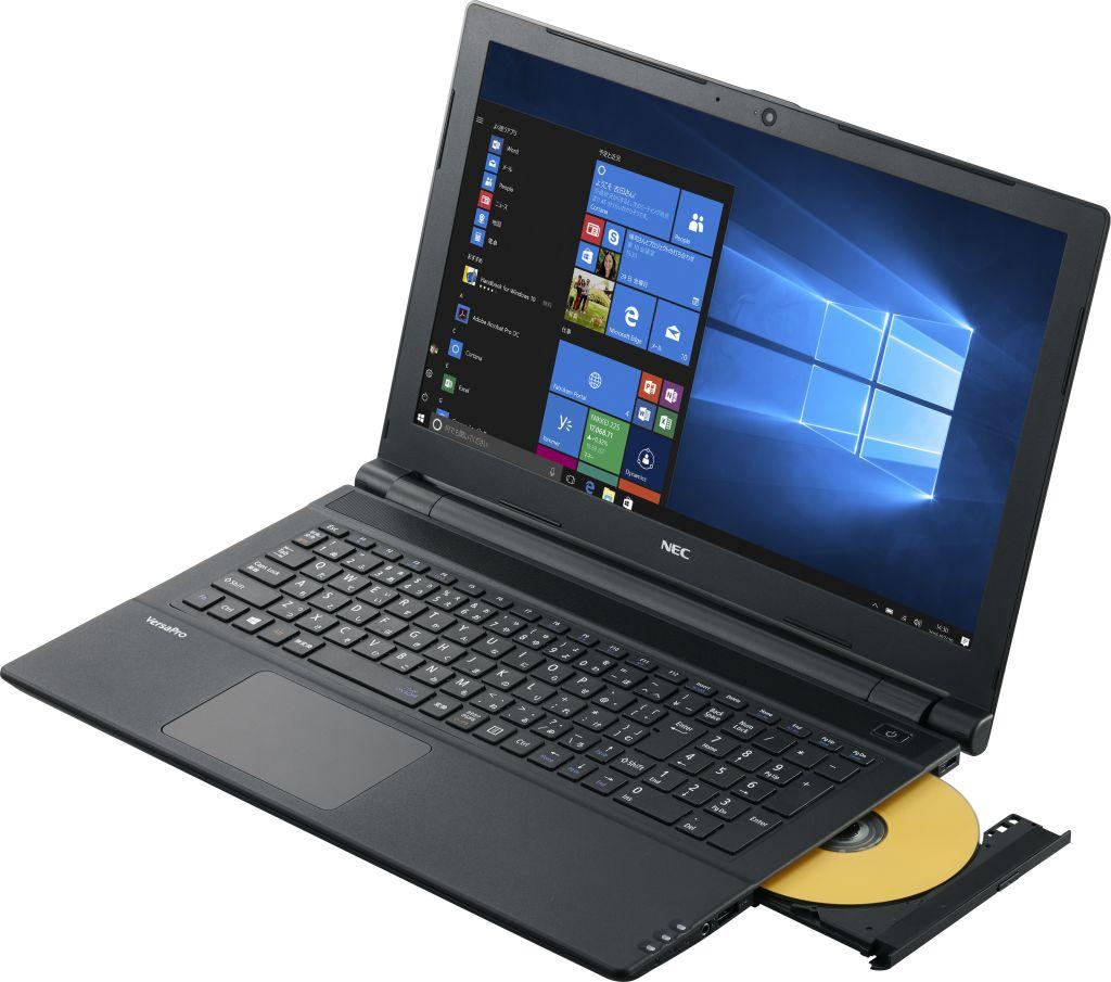 PC-VJT23FBGHBT1ZEZZY VersaPro J VJT23/FB-1 タイプVF/Win10Pro 64bit/Core i5(2.30GHz)/500GB HDD/8GB/DVDスーパーマルチドライブ/15.6型ワイドTFTカラー液晶H
