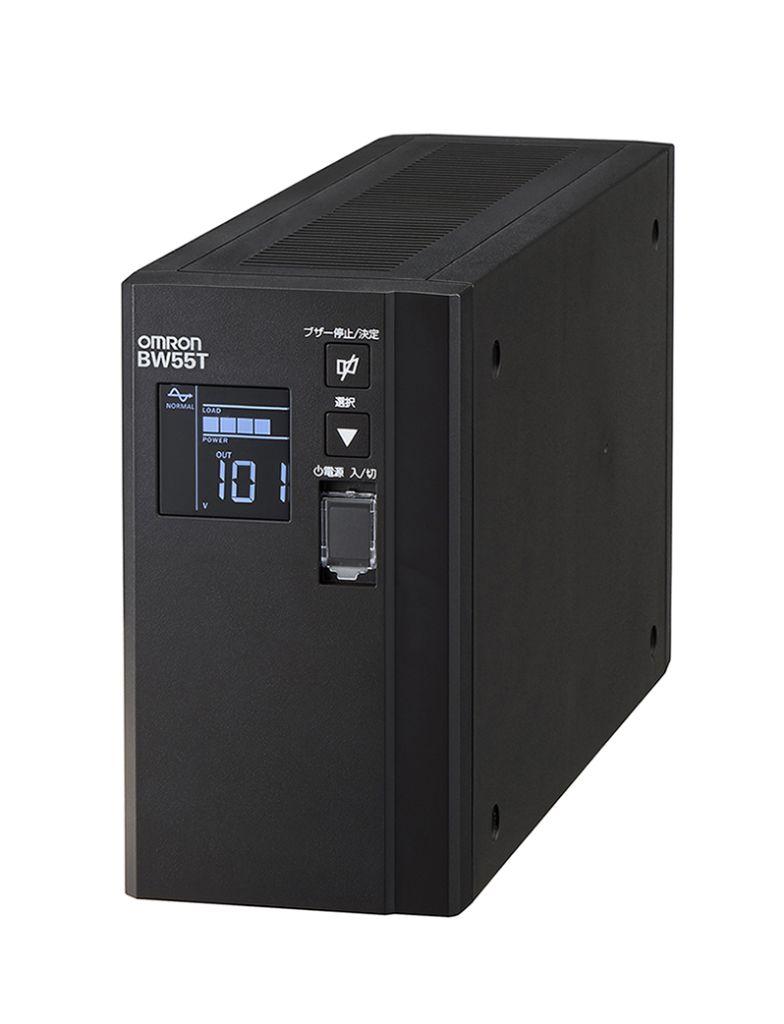 無停電電源装置(常時商用給電/正弦波出力) 550VA/340W BW55T BW55T