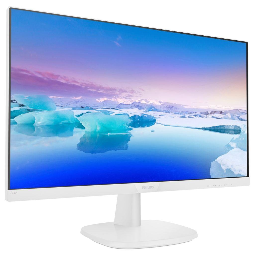 21.5インチ ワイド 液晶ディスプレイ(1920x1080/D-Sub15Pin/HDMI/スピーカー/WLED/IPSパネル/ホワイト) 223V7QHAW/11