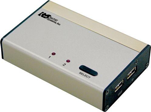 USB接続DVI/Auido対応パソコン自動切替器(KVMスイッチ) REX-230UDA