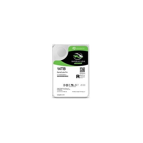BarraCuda Pro 3.5 HDD (Helium) シリーズ 3.5inch SATA 6Gb/s 14TB 7200rpm 256MB ST14000DM001