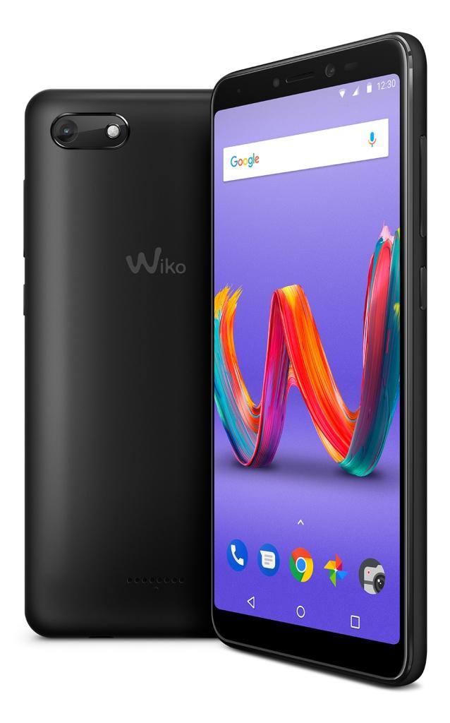 [Tommy3 Plus]スマートフォン(Mediatek MT6739WW/2GB/16GB/5.45型ワイド(HD+)/Android 8.1/Anthracite Matte) W-V600(ANTHRACITE MATTE)