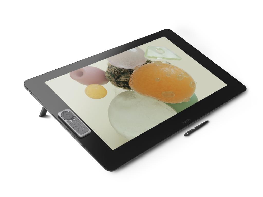 [Cintiq Pro]32インチ 4K対応 ワイド タッチパネル 液晶タブレット(3840x2160/USB-C/USB3.0x4/DisplayPort/HDMI/IPSパネル/電磁誘導方式) DTH-3220/K0
