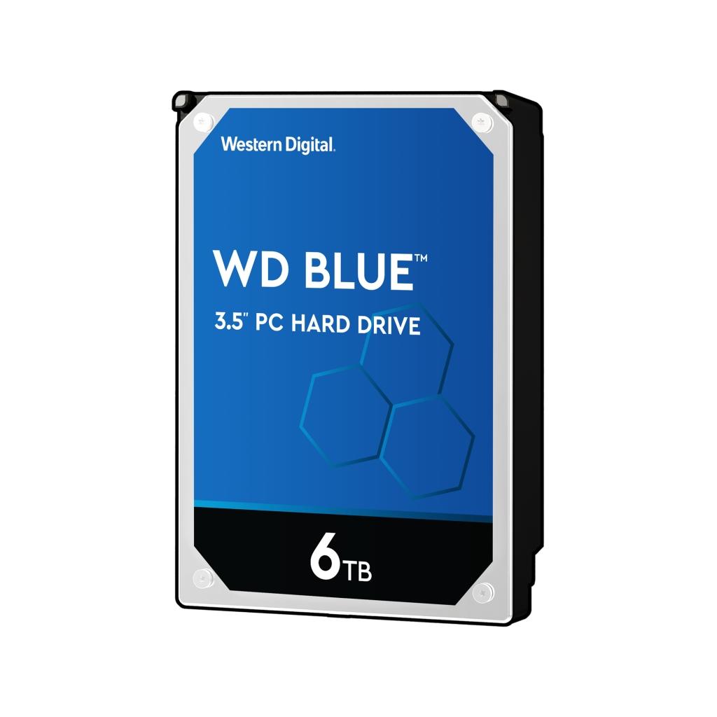 WD Blue 3.5インチ内蔵HDD 6TB SATA6Gb/s 5400rpm 256MB WD60EZAZ